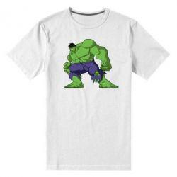 Мужская стрейчевая футболка Халк - FatLine