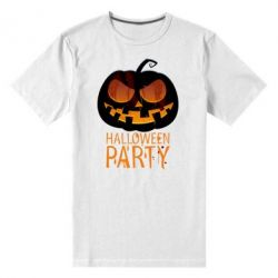Мужская стрейчевая футболка Halloween Party - FatLine