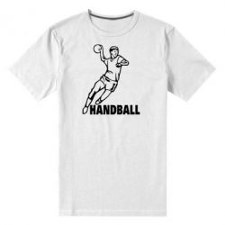 Мужская стрейчевая футболка Handball - FatLine
