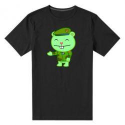 Мужская стрейчевая футболка happy tree friends flippy - FatLine