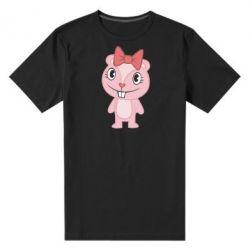 Мужская стрейчевая футболка happy tree friends giggles - FatLine