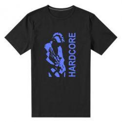 Мужская стрейчевая футболка Harcore - FatLine