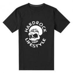 Мужская стрейчевая футболка Hardrock lifestyle - FatLine