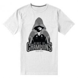 Мужская стрейчевая футболка Heart of Champions - FatLine