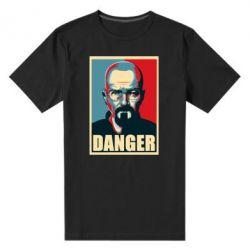 Мужская стрейчевая футболка Heisenberg Danger - FatLine