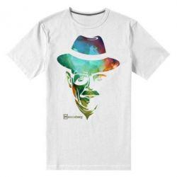 Мужская стрейчевая футболка Heisenberg - FatLine