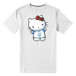 Мужская стрейчевая футболка Hello Kitty UA - FatLine
