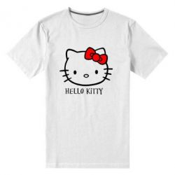 Чоловіча стрейчева футболка Hello Kitty