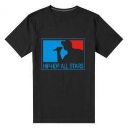 Мужская стрейчевая футболка Hip-hop all stars - FatLine
