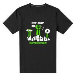 Мужская стрейчевая футболка Hip-hop revolution - FatLine