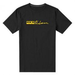Мужская стрейчевая футболка HKS logo - FatLine