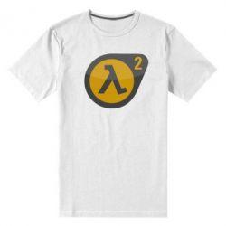 Мужская стрейчевая футболка HL 2 logo - FatLine