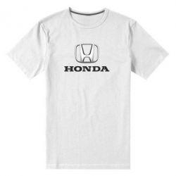 Мужская стрейчевая футболка Honda 3D Logo - FatLine