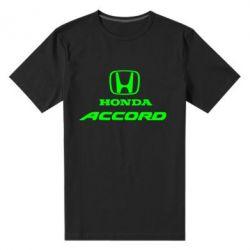 Мужская стрейчевая футболка Honda Accord