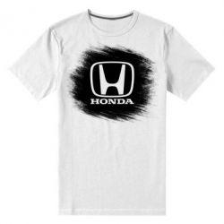 Купить Мужская стрейчевая футболка Хонда арт, Honda art, FatLine