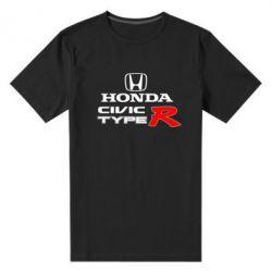 Мужская стрейчевая футболка Honda Civic Type R - FatLine