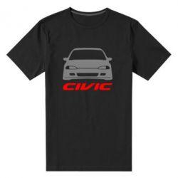 Мужская стрейчевая футболка Honda Civic - FatLine