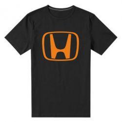 Мужская стрейчевая футболка Honda Logo - FatLine