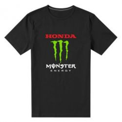 Мужская стрейчевая футболка Honda Monster Energy - FatLine