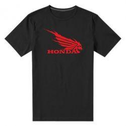 Мужская стрейчевая футболка Honda Skelet - FatLine