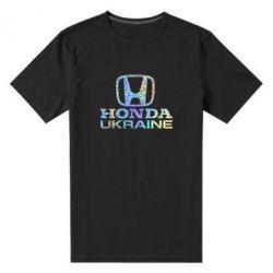 Мужская стрейчевая футболка Honda Ukraine Голограмма