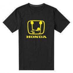 Чоловіча стрейчова футболка Honda - FatLine