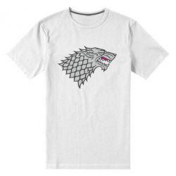 Мужская стрейчевая футболка House Stark - FatLine