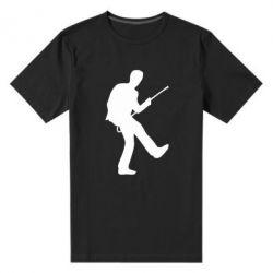 Мужская стрейчевая футболка House танцует - FatLine