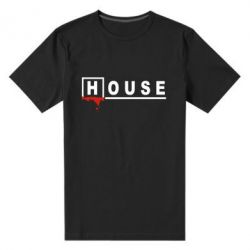 Мужская стрейчевая футболка House - FatLine