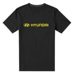 Мужская стрейчевая футболка Hyundai 2 - FatLine