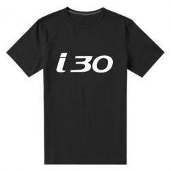 Мужская стрейчевая футболка HYUNDAI i30 - FatLine