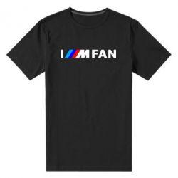 Чоловіча стрейчева футболка I am FAN