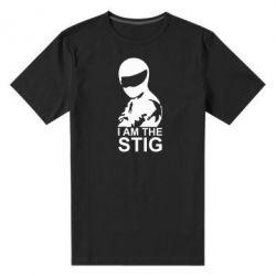 Мужская стрейчевая футболка I am the Stig - FatLine