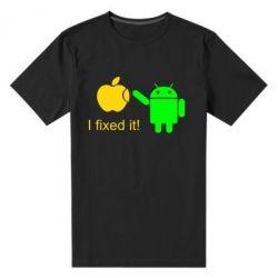 Мужская стрейчевая футболка I fixed it! Android - FatLine