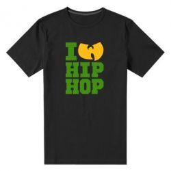 Мужская стрейчевая футболка I love Hip-hop Wu-Tang - FatLine