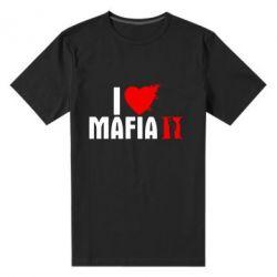 Мужская стрейчевая футболка I love Mafia 2 - FatLine