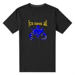 Мужская стрейчевая футболка Ice takes all Dota - FatLine