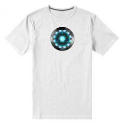 Мужская стрейчевая футболка Iron Man Device - FatLine