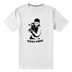 Мужская стрейчевая футболка Iron Mike - FatLine