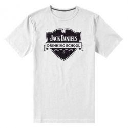 Мужская стрейчевая футболка Jack Daniel's Drinkin School