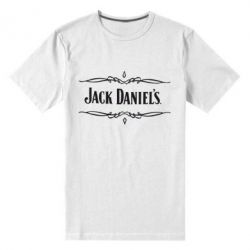 Мужская стрейчевая футболка Jack Daniel's Logo - FatLine