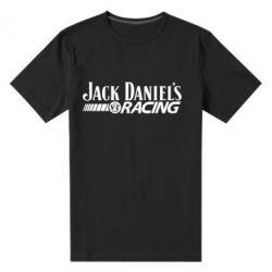 Мужская стрейчевая футболка Jack Daniel's Racing - FatLine