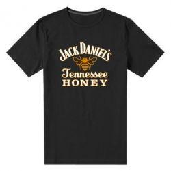 Мужская стрейчевая футболка Jack Daniel's Tennessee Honey - FatLine