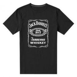 Мужская стрейчевая футболка Jack Daniel's Whiskey - FatLine