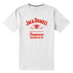 Мужская стрейчевая футболка Jack Daniels Tennessee - FatLine