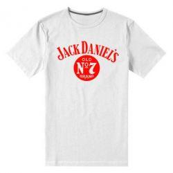 Мужская стрейчевая футболка Jack - FatLine