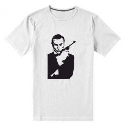 Купить 007, Мужская стрейчевая футболка James Bond, FatLine