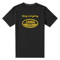 Мужская стрейчевая футболка Java Cesky Motocyclovy - FatLine
