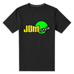 Мужская стрейчевая футболка JDM Style - FatLine