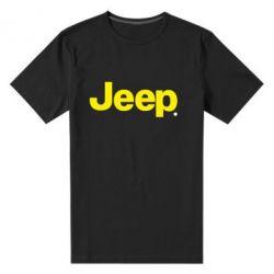 Мужская стрейчевая футболка Jeep - FatLine